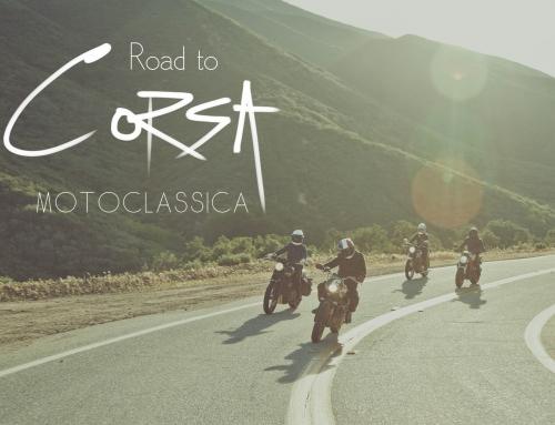 Road to Corsa MotoClassica